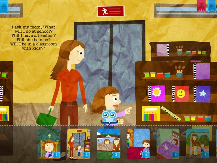 It's Time to Go to School - Have fun with Pickatale while learning how to read! screenshot-2