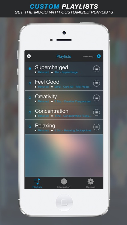Retuned Pro - Music tuner and binaural beat brainwave entrainment by Universal Tones screenshot-3