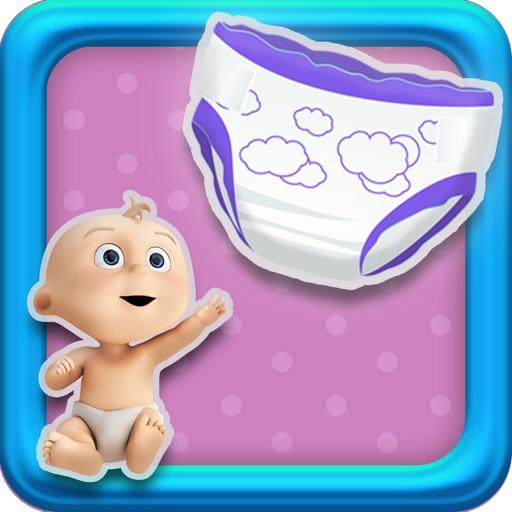 Baby Diaper Nursery Toy Pop Toddler game - free version