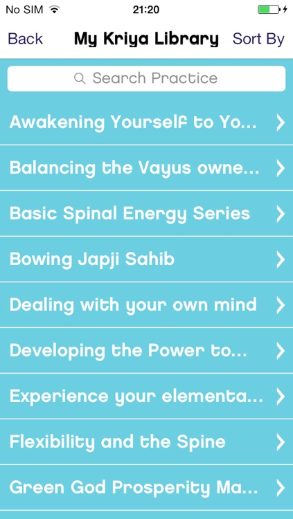 Kundalini Yoga Sadhana Journal screenshot-3