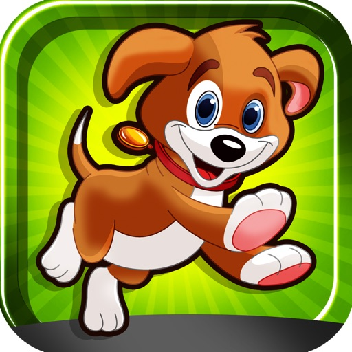 Dog Crossing The Road Free Game icon