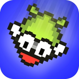 Falling Bird Action - The Pixel Flappy Red Wings Games