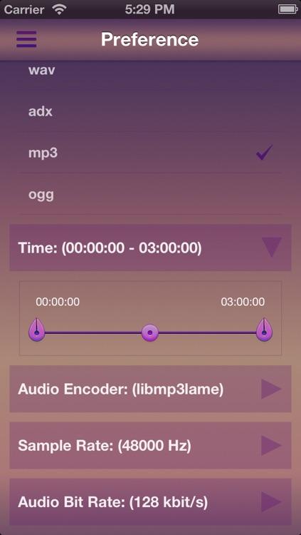Video To Audio(Audio Extractor MP3 WAV FLAC AAC OGG...) screenshot-3