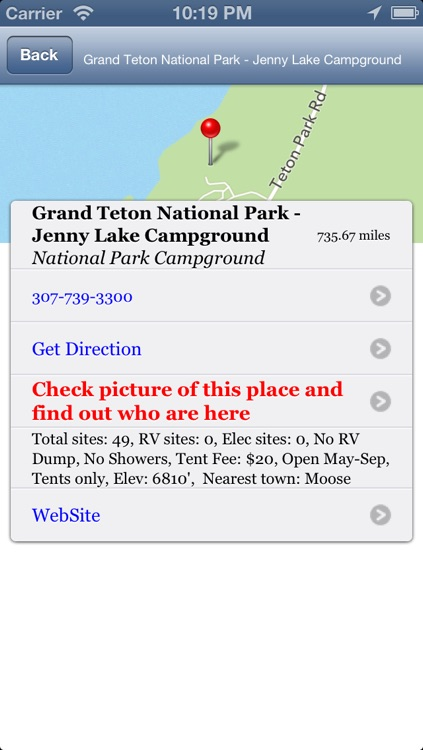 National and State Park Camping Guide - Free