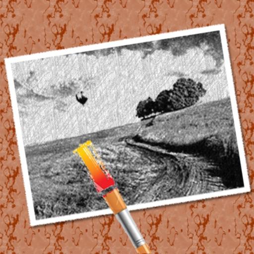 PicoBoo Lite - Photo Coloring & Sketch Book