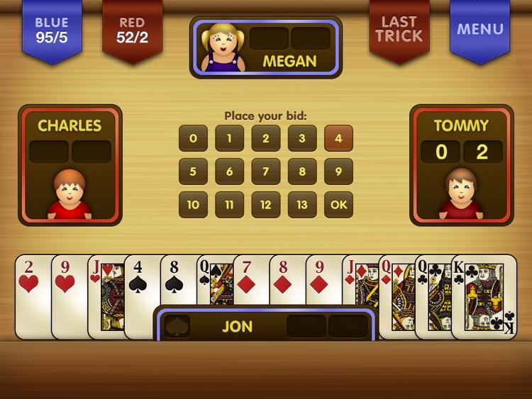 Spades Free HD screenshot-3