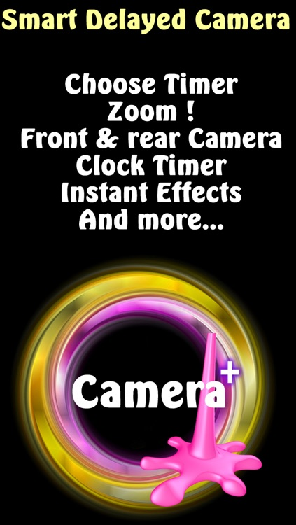 Selfie cam with self timer camera - Awesome selfie's automatic timing release plus zoom control