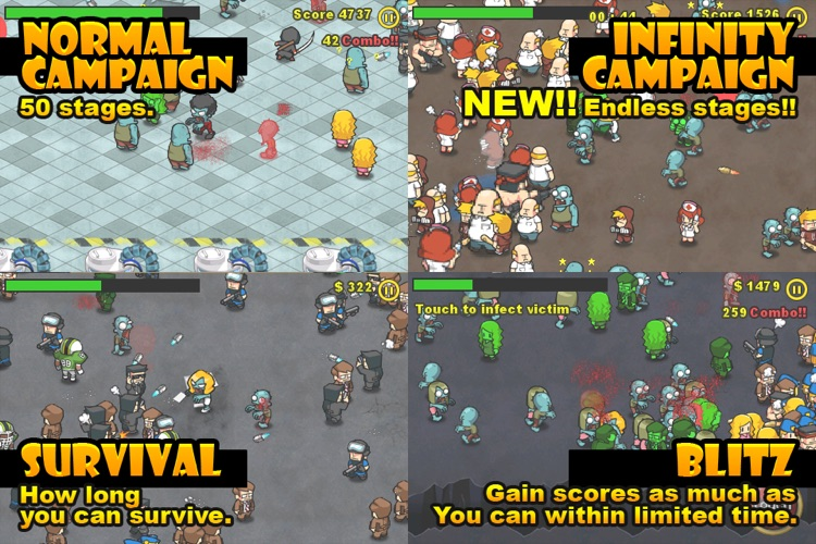 Infect Them All : Zombies screenshot-4