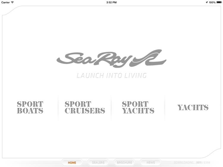Sea Ray Consumer Application