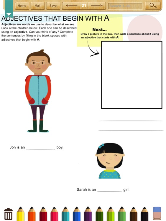 English Grammar Worksheets(Grade 2) screenshot-3