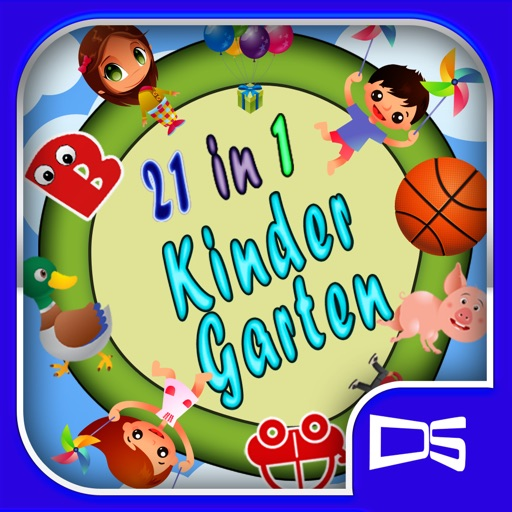 Kindergarten: 21 in 1 pack icon