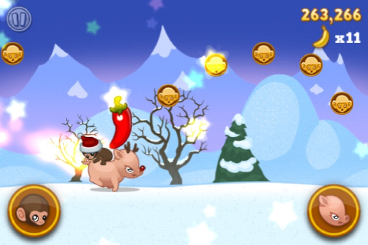 Baby Monkey (going backwards on a pig) screenshot-4