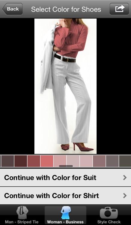 Dress Guide Pro - Perfect Color Matching screenshot-3