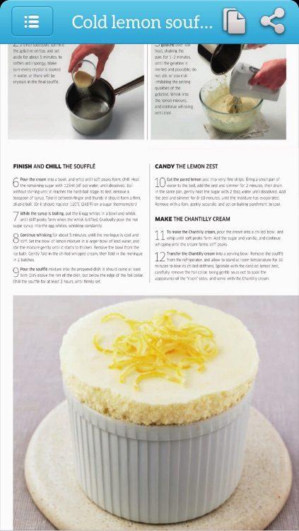 Dessert Recipes - Photo Cookbook