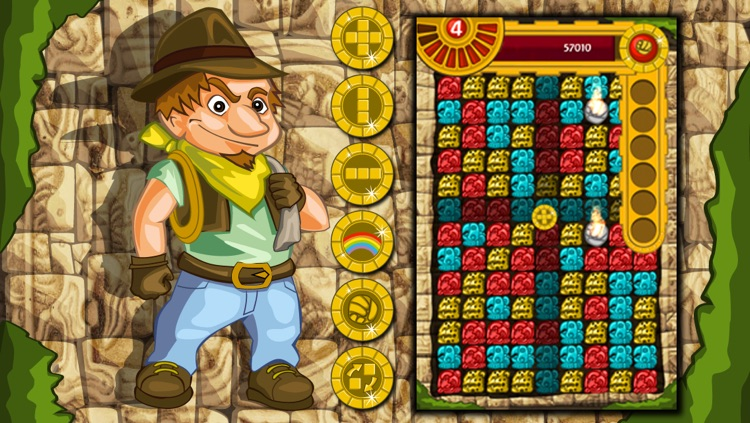 Antique Mayan Blocks - Collapse, Earn, Mash, Trap and Splash Jewel Pieces screenshot-4