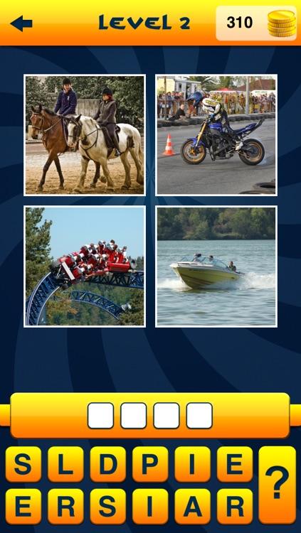 WordApp - 4 Pics, 1 Word, What's that word? screenshot-4