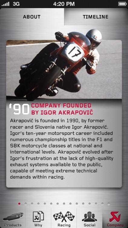Akrapovič Motorcycle Exhaust Systems screenshot-4