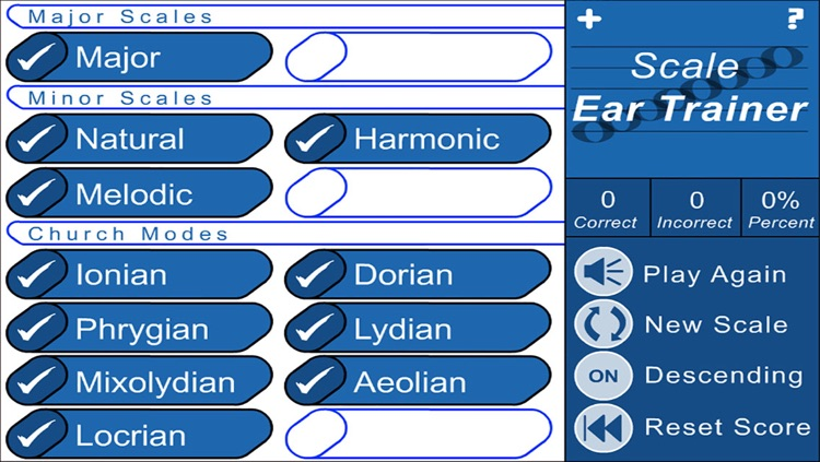 Scale and Triad Trainer (Music Theory Drills)