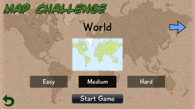 Map challenge on the app store gumiabroncs Images