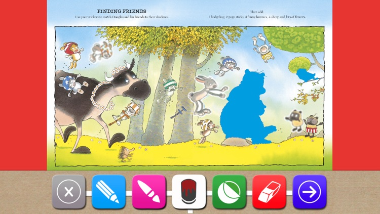Hugless Douglas Sticker Activity App screenshot-0