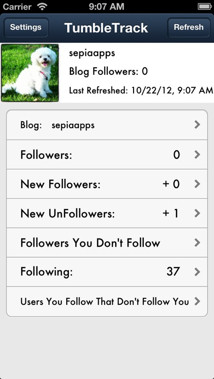 TumbleTrack Followers on Tumblr - Track UnFollowers and View Quotes or Wallpaper
