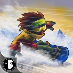 DownHill Racing - Crazy Winter Snowboard Race Free