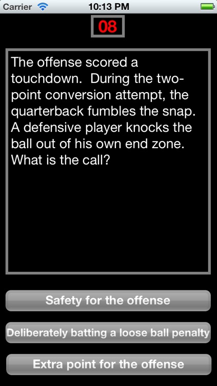Make the Call - Football