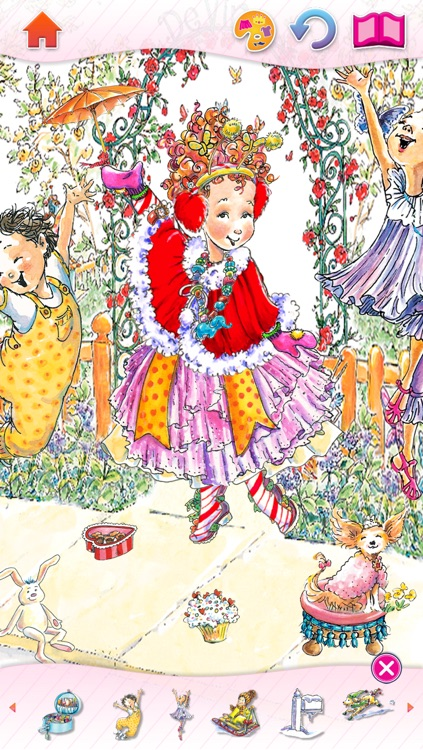 Fancy Nancy Dress Up screenshot-2
