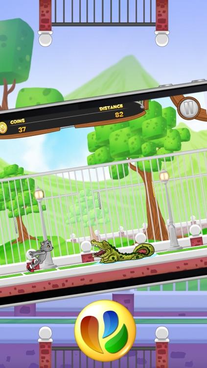 Animal Jump and Run - Free Fun Pet Game screenshot-3
