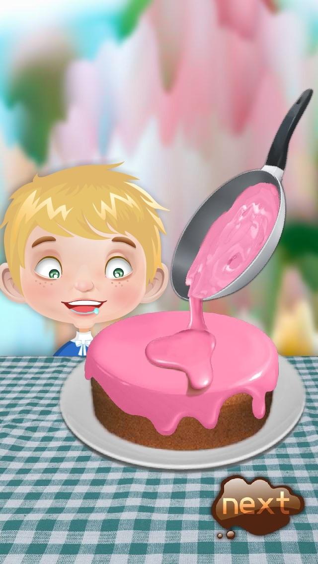 バースデーケーキメーカー - 料理ゲームのおすすめ画像1