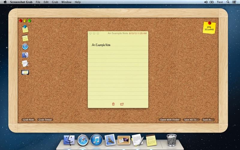 Screenshot Grab скриншот программы 1
