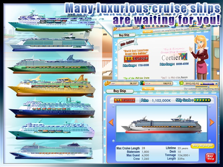 Cruise Tycoon HD screenshot-2