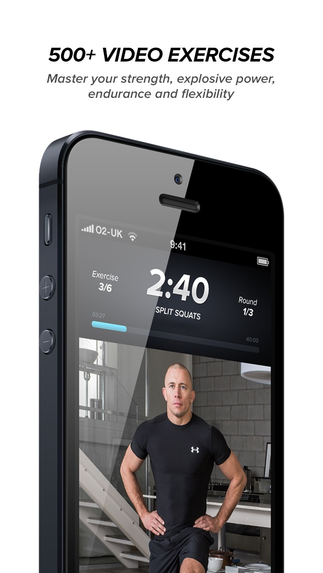 Screenshot for Touchfit: GSP • The Complete Home Fitness Solution in Czech Republic App Store