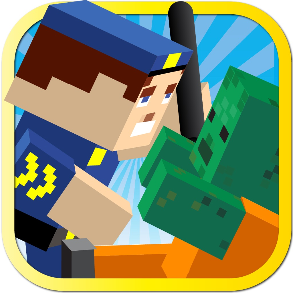 Cops N Robbers - Pocket Block Edition Game