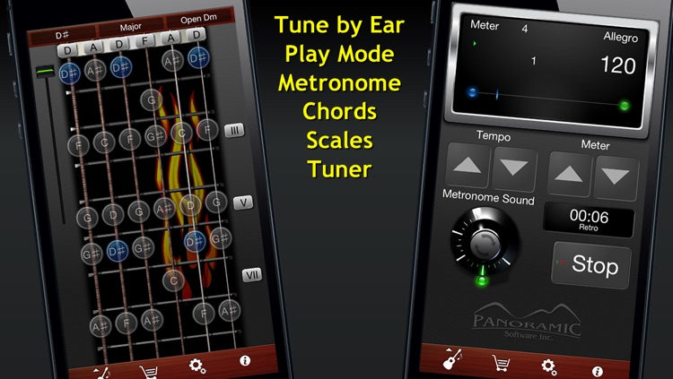 Guitar Suite - Metronome, Tuner, and Chords Library for Guitar, Bass, Ukulele screenshot-3