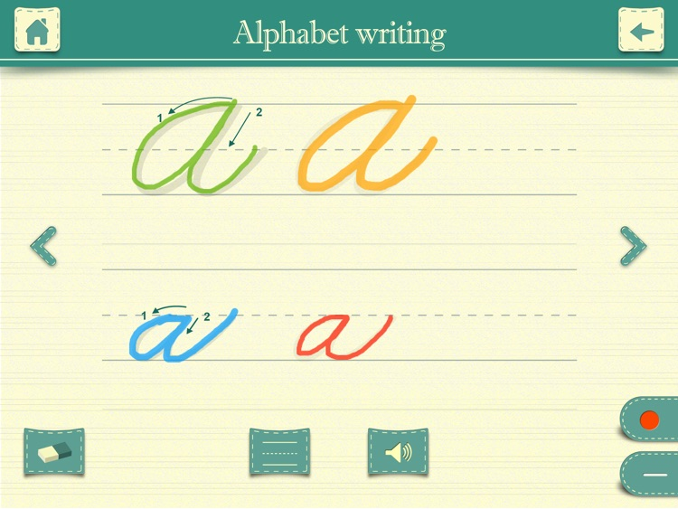 Cursive Writing HD screenshot-1