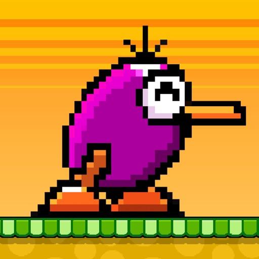 Kiwi Blocks - Flying Pixel Birds FREE