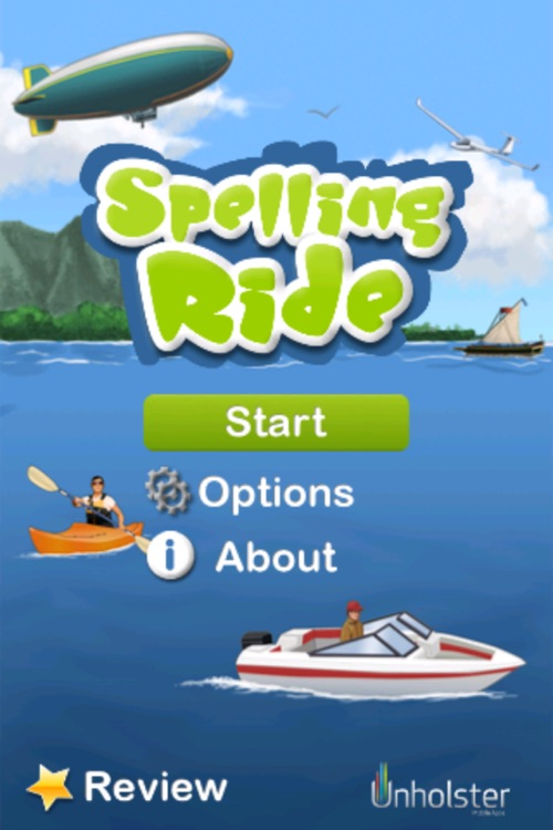 Spelling Ride screenshot-0