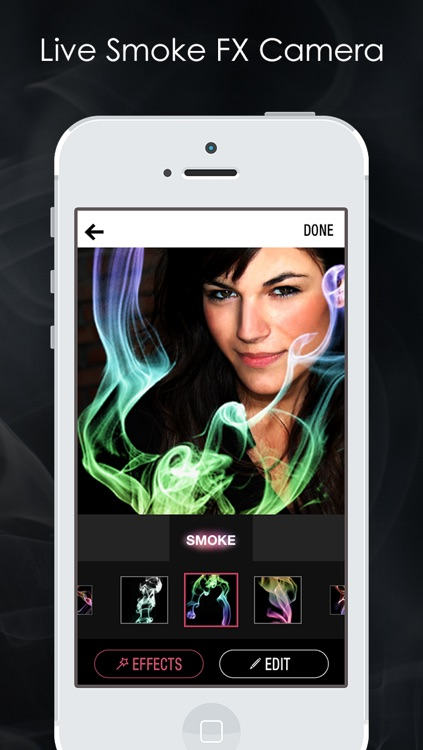 Magic Smoke Photo FX Editor - Turn your Pics into cool Smokeful Pictures with Camera Effects HD App Free