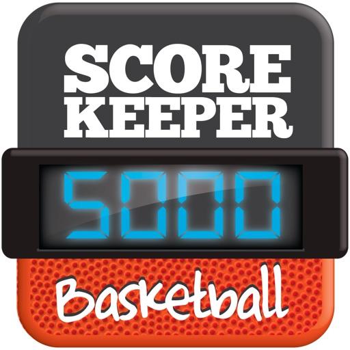 Basket Score - ScoreKeeper5000 iOS App