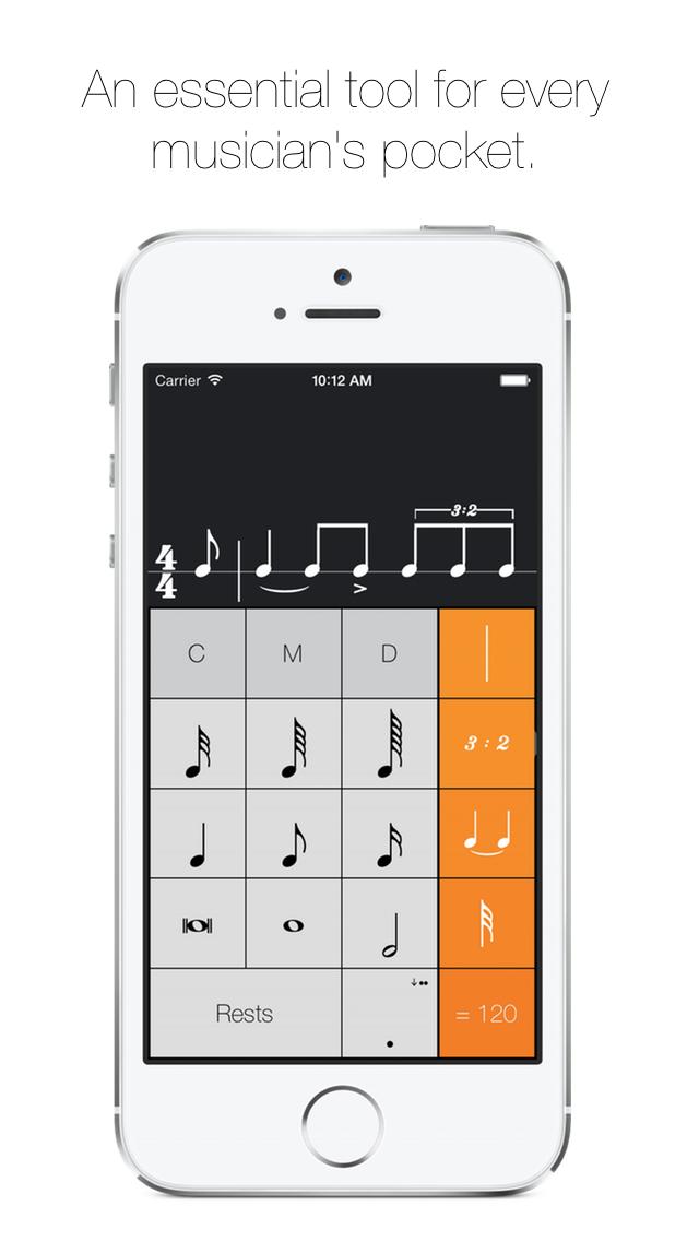 Rhythm Calculator - Advanced rhythm trainer and metronome screenshot one