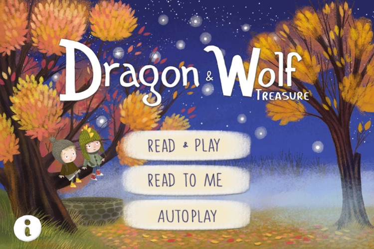 Dragon and Wolf - An Interactive Children`s Book