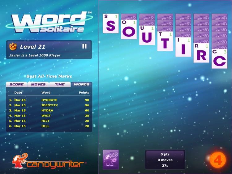Word Solitaire HD screenshot-3