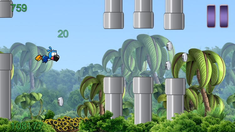 Flappy Wing - Jungle Game Edition screenshot-3