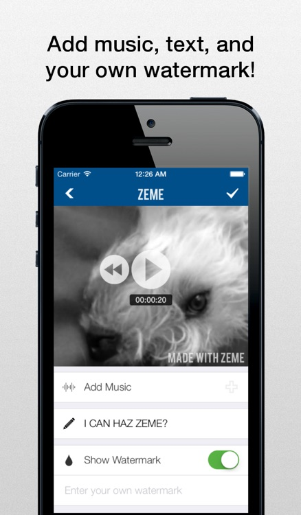 Zeme Pro - Video Editor: Add Music to Vines and Instagram Videos