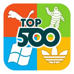 Top 500 Logo Quiz : Free