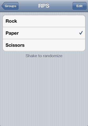 Randomizer screenshot 1