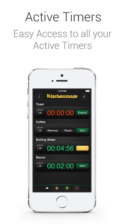 Kitchenmate Cooking Timer screenshot-4