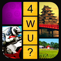 Guess The 1 Word - 4 Pics Puzzle Free Game