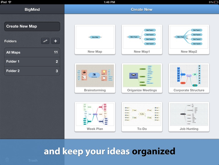 BigMind Pro - Mind Mapping screenshot-2